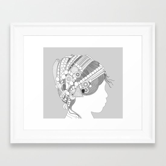 A TRIBE CALLED WOMEN Framed Art Print