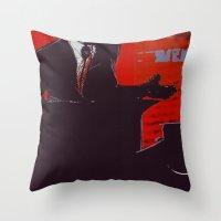 Gotcha Throw Pillow