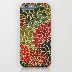 Floral Abstract 7 Slim Case iPhone 6s