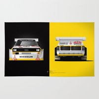 Group B Edition, N.º3, Audi Quattro S1 Rug