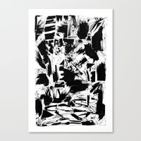 Late night Canvas Print