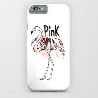 Pink Flamingo iPhone 6 Slim Case