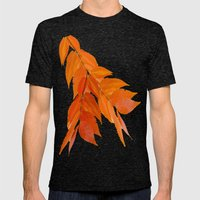 Fall mood Mens Fitted Tee Tri-Black SMALL
