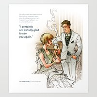 The Great Gatsby_see you again Art Print