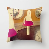 M A N I K I N I Throw Pillow