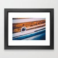 Set Sail III Framed Art Print