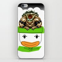 King Koopa & His Clown Car iPhone & iPod Skin