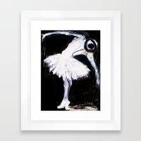 dancer: the debut Framed Art Print