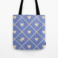 Always Near (from the Valentine set) (colors: deep dusk) Tote Bag