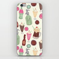 Soda Jerk Pattern iPhone & iPod Skin