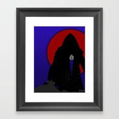 Escape From Jakku Framed Art Print