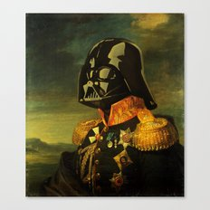Portrait of Lord Vader Canvas Print