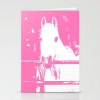White Horse Stationery Cards