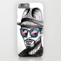 iPhone & iPod Case featuring Reflective Rave by Samantha J Creedon