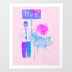 Live Art Print