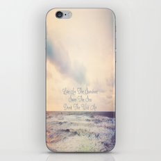 Live In The Sunshine iPhone & iPod Skin