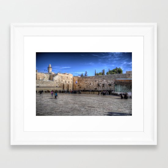 The Wailing Wall Series #1 Framed Art Print