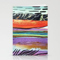 Tropicana Electric Stationery Cards
