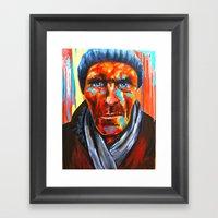Éludé Au Fond D'un Cou… Framed Art Print