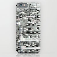 iPhone Cases featuring Highly Resolved Ghost (P/D3 Glitch Collage Studies) by Wayne Edson Bryan