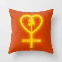 Sailor Venus Throw Pillow