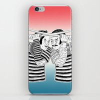 Samurai Duel iPhone & iPod Skin