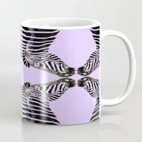 Lavander Zebras Mug