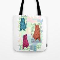 Cute little bears Tote Bag