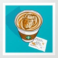 Trumpkin Spice Latte Art Print