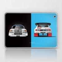 Group B Edition, N.º1, Peugeot 205 T16 E2 Laptop & iPad Skin