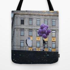 Purple balloon Tote Bag