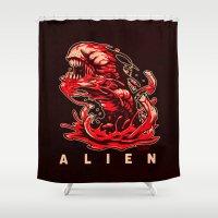 ALIEN: KANE'S SON Shower Curtain