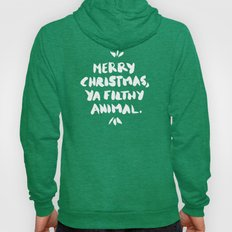 Merry Christmas, Ya Filthy Animal – Red Hoody