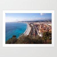Nice France 6071 Art Print
