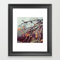 Marzipan Framed Art Print