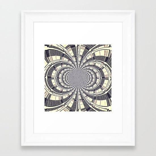 HYPER Framed Art Print