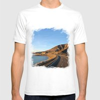 Road To Bariloche Mens Fitted Tee White SMALL
