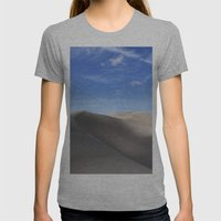 Dunes Womens Fitted Tee Athletic Grey SMALL