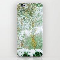 Snowy Morning iPhone & iPod Skin