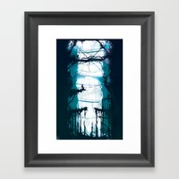 City Of Lost Muses Framed Art Print