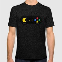 Game of Ghosts Mens Fitted Tee Tri-Black SMALL