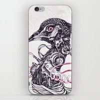 Cyborg Peacock iPhone & iPod Skin
