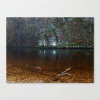 River Wharfe Canvas Print