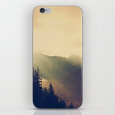 Sunrise over the Mountians iPhone & iPod Skin
