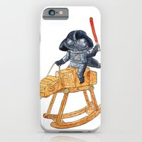 darth vader iPhone & iPod Cases featuring Darth Vader by gunberk