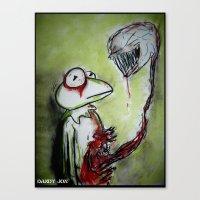Muppet Parasite Canvas Print