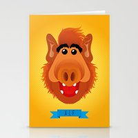 A For ALF Stationery Cards