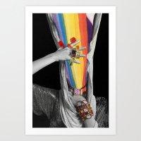 Photon Inertia Art Print