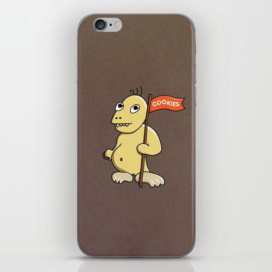 Funny Cartoon Cookie Monster iPhone & iPod Skin