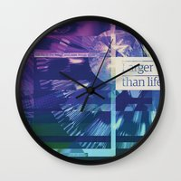 Larger Than Life Wall Clock